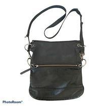 The Sak  Women's Black Soft  Leather Crossbody Shoulder Bag Purse Photo