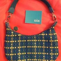 The Sak Women's Trendy Purse / Bag Spring Blue & Green Photo