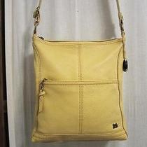 The Sak Yellow Leather Pebble Leather Cross-Bpdy Photo