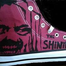 The Shining Inspired Fan Art Hand Painted Shoes Photo