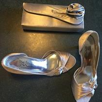 The Touch of Nina Formal Shoes Size 7.5. Jessica Mcclintock Formal Clutch. Photo