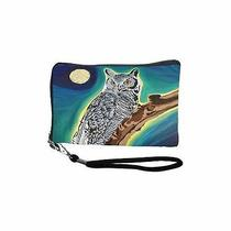 The Wise One Cell Phone Wristlet by Salvador Kitti - Sk-Owl-Cpw Photo