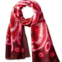 Theodora & Callum Artsy Boho Long Agalega Tie Scarf Wrap Wearable Art 175 New  Photo
