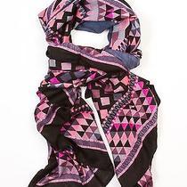 Theodora & Callum Black Multi Adirondack Wearable Art Scarf  Pareo Wrap Photo