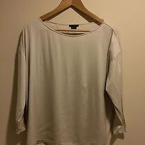 Theory Beige Blouse Med Photo