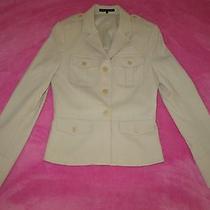 Theory Beige Jacket Size 4 Photo