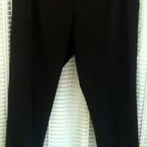 Theory Black Dress Pants Sz 8 as Seen on Tv/movies Photo