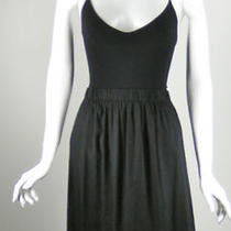 Theory Black Maxi Dress One Size Photo