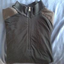 Theory Black Sweater Size Large Photo
