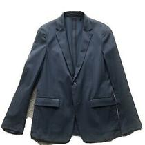Theory Blazer Sports Jacket Size 38 Navy  Photo