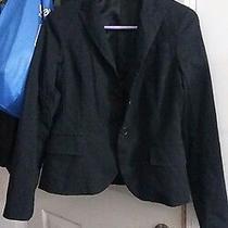 Theory Blazer Suit Coat  Black Size 0 Photo