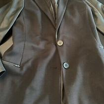 Theory Blazer With Leather Sleeve Size 6 Photo