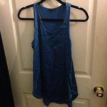 Theory Blue Tank Medium  Photo