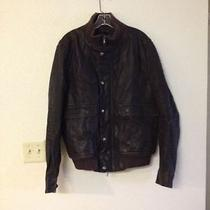Theory Brown Bomber Jacket Msrp 895  Photo