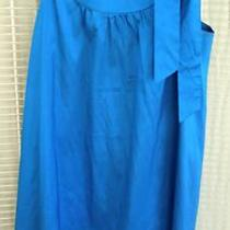 Theory Cerulean Blue Dress Sz 10 as Seen on Tv/movies Photo