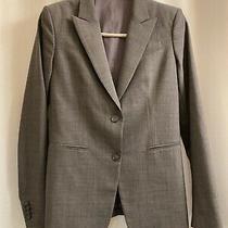 Theory Charcoal Gray Wool Stretch Jacket-Sz 4 Photo