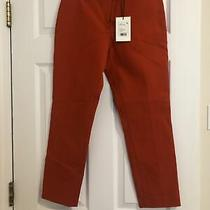 Theory Classic Skinny Pant Size 2 Fire Opal Photo