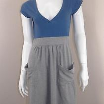 Theory Color Blocked Pocket Dress Size M Photo