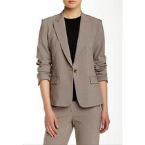 Theory Gabe B 2 Wool Blazer in Grey Oat Size 2 (New Without Tags) Photo