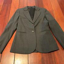 Theory Gray Wool Blazer Size 6 Photo