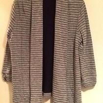 Theory Knit Jacket Size Large Photo