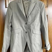 Theory Light Brown Blazer Suit Jacket Size 4 Photo