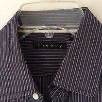 Theory Men's Long Sleeves Shirt   Photo