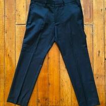 Theory Mens Black Suit Dress Pants Size 33 Photo