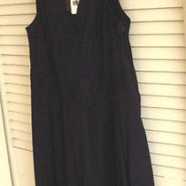 Theory Mini Dress 10 Nwt Saks Blackberry  Lg. Pleats Sleeveless 285 Side Zippe Photo