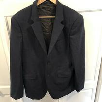 Theory Navy Blue Xylo Np Slim Suit Jacket Blazer 40r Wool Photo