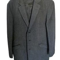 Theory Overcoat Coat Jacket Gray Medium Cashmere Wool  Photo