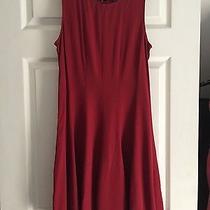 Theory Red Dress Size 6 Photo