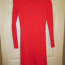 Theory- Red Dress- Size Petite Photo
