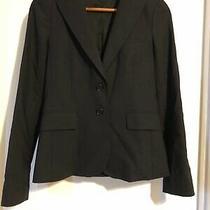 Theory Rory Blazer Womens Button Lined Black Sz Xs Photo