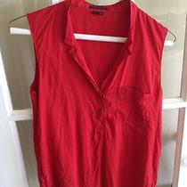Theory Silk Blouse Size S Nwot Photo