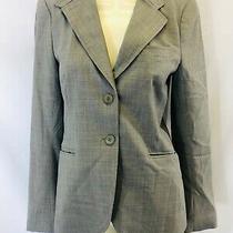 Theory Size 8 Gray Vintage Blazer Jacket  Photo