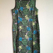 Theory Stained Glass Sheath Dress Sz 10 Photo