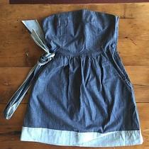 Theory Strapless Cotton Dress Photo