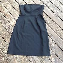 Theory  Strapless Dress    Size  2      Beautiful   Photo