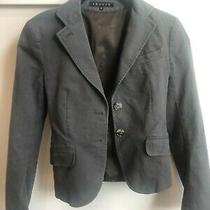 Theory Structured Open Front Blazer Size 00 - a Condition Photo