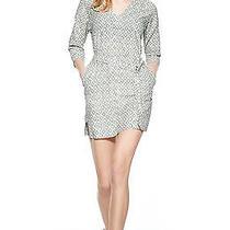 Theory Tianhe Print Cotton Dress 100% Cotton S Nwt  Photo