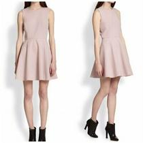 Theory Tillora Flared-Skirt Dress Size 8 Photo