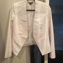 Theory White Blazer Size 6 Photo