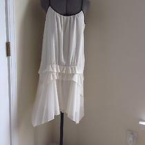 Theory White Dress Size 6 Photo