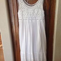 Theory White Dress Size P/s Photo