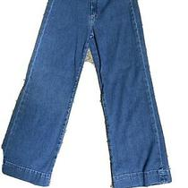 Theory Wide Leg Cropped Jeans Photo
