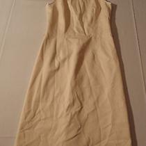Theory Winter White Dress  Lined    Size 8   Very Nice(d) Photo