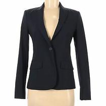 Theory Women Black Wool Blazer 2 Photo