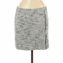Theory Women Gray Casual Skirt 8 Photo