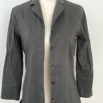 Theory Womens Linen Blazer Size S Photo